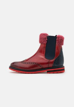 Melvin & Hamilton - AMELIE  - Stiefelette - classic ruby/classic navy/red/beige