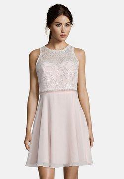 Vera Mont - MIT SPITZE - Cocktailkleid/festliches Kleid - rosé/white