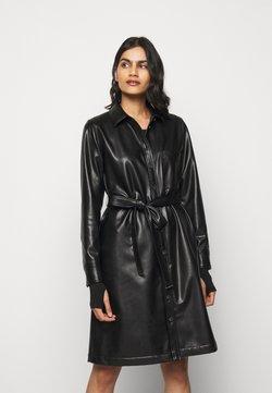 HUGO - KELANA - Vestido camisero - black