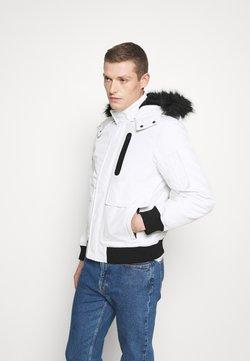 INDICODE JEANS - SMU FRANK - Winterjacke - white