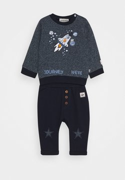 Jacky Baby - SPACE JOURNEY SET - Sweatshirt - blue