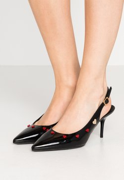 Love Moschino - HEART STUDS - Klassieke pumps - black