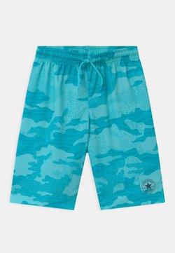Converse - CHUCK PATCH UNISEX - Shorts - bleached cyan