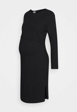 Boob - INEZ DRESS - Jerseyklänning - black
