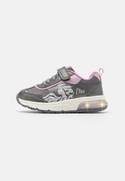 Geox - DISNEY FROZEN SPACECLUB GIRL  - Sneaker low - dark silver/lilac