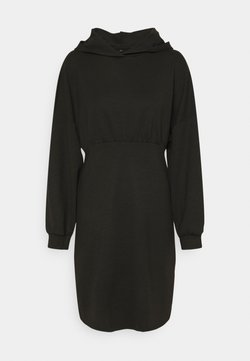 ONLY - OLMSANDY SHORT DRESS - Vestito di maglina - black