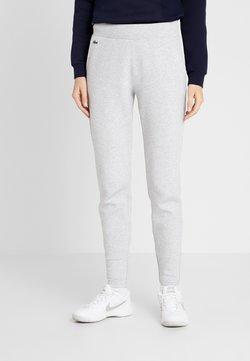 Lacoste Sport - PREMIUM PANT - Jogginghose - silver chine/navy blue/white