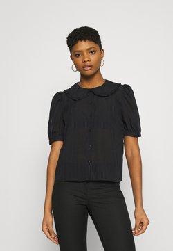 JDY - JDYLAURE COLLAR SHIRT - Camicia - black