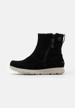 Sorel - EXPLORER ZIP - Snowboot/Winterstiefel - black