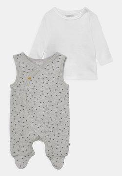 Staccato - SET UNISEX - Camiseta de manga larga - soft white melange