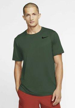 Nike Performance - T-Shirt basic - sequoia/galactic jade/heather/black