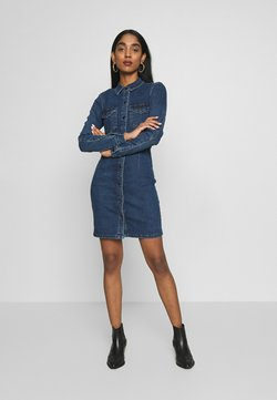 JDY - JDYSANNA DRESS - Jeanskleid - medium blue denim