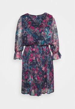 Vero Moda Petite - VMJACKIE SHORT DRESS  - Robe d'été - navy