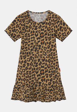 Claesen's - GIRLS ANIMAL PRINT - Jerseykleid - brown