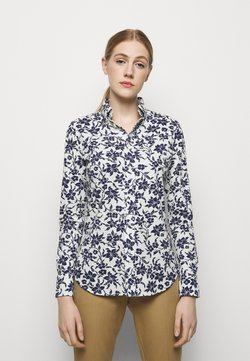 Polo Ralph Lauren - OXFORD - Button-down blouse - navy/cream