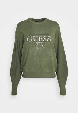 Guess - BEATRICE - Maglione - grün