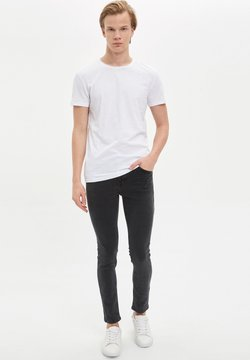 DeFacto - Slim fit jeans - anthracite