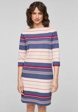 s.Oliver - Jerseykleid - light blush stripes