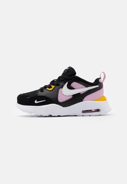 Nike Sportswear - AIR MAX FUSION - Trainers - black/white/light arctic pink/dark sulfur