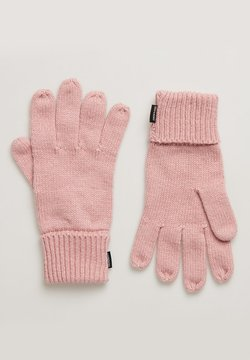 Superdry - HERITAGE - Fingerhandschuh - nappa pink