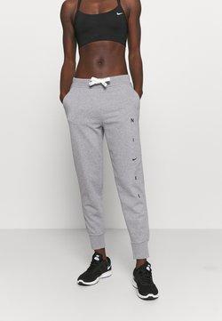 Nike Performance - DRY GET FIT PANT - Verryttelyhousut - carbon heather/smoke grey/black