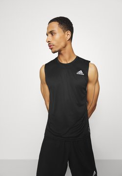 adidas Performance - SLEEVELESS - Camiseta de deporte - black