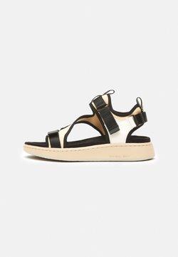 Woden - EMILIE - Korkeakorkoiset sandaalit - beige