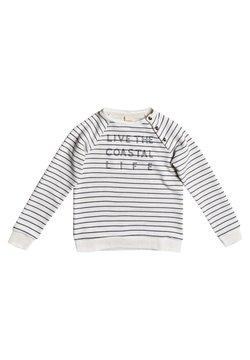 Roxy - ABOVE THE CLOUDS - Sweater - snow white kuta stripes