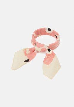 Marimekko - ASTRILLI MINI UNIKKO SCARF - Huivi - beige/pink/black
