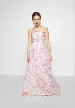 Anaya with love - BANDEAU TIERED MAXI DRESS - Ballkleid - white