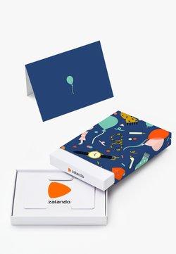 Zalando - HAPPY BIRTHDAY - Geschenkgutschein in Box - blue
