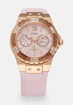 Guess - Uhr - rosegold-coloured