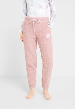 Eivy - BIG BEAR SHERPA PANTS - Jogginghose - faded pink