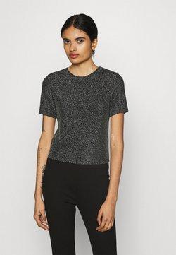 EDITED - BERTA - T-Shirt print - grau/silber