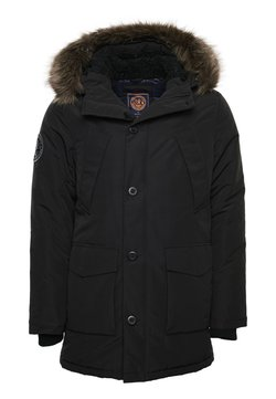 Superdry - EVEREST  - Wintermantel - black
