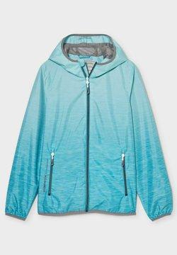 C&A - Regenjacke / wasserabweisende Jacke - turquoise