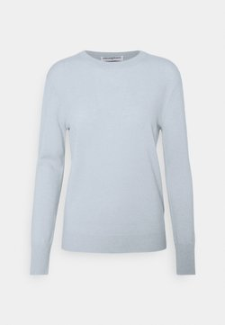 pure cashmere - CLASSIC CREW NECK  - Strickpullover - baby blue