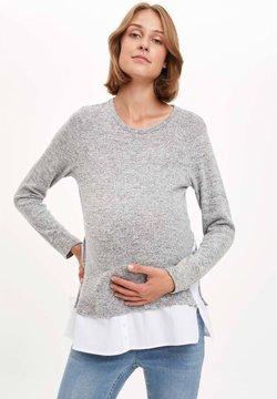 DeFacto - Camiseta de manga larga - grey