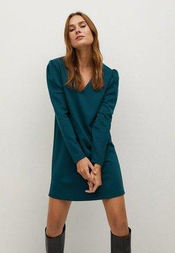 Mango - CAROLINA - Korte jurk - petrol blue