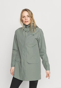 The North Face - WOODMONT RAIN JACKET - Impermeable - agave green