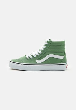 Vans - SK8-HI - Korkeavartiset tennarit - shale green/true white