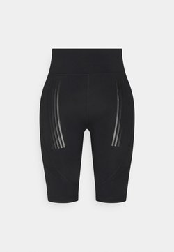 ONLY Play - ONPNELL TRAINING SHORTS - Tights - black