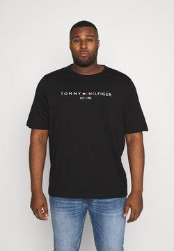 Tommy Hilfiger - LOGO TEE - T-shirt imprimé - black