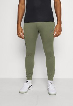 Nike Performance - FC PANT - Jogginghose - medium olive/thunder blue