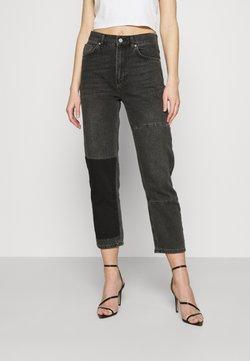 KENDALL + KYLIE - STRAIGHT LEG PANEL  - Straight leg jeans - antracite