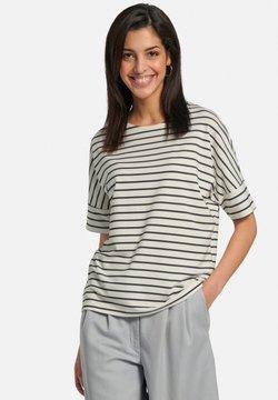DAY.LIKE - T-Shirt print - offwhite/marine