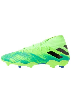 adidas Performance - NEMEZIZ 19.3 FG - Fußballschuh Nocken - signal green/core black/royal blue