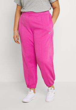 Nike Sportswear - PANT TREND PLUS - Jogginghose - active fuchsia/white