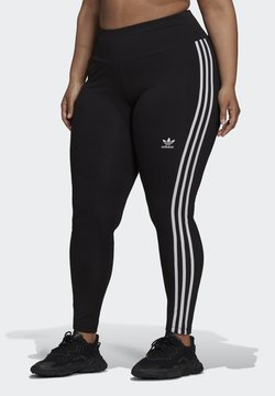 adidas Originals - 3 STRIPES ADICOLOR COMPRESSION - Leggings - Hosen - black