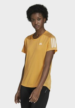 adidas Performance - OWN THE RUN T-SHIRT - Camiseta estampada - orange